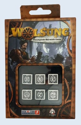 WOLSUNG Dice - White (6)