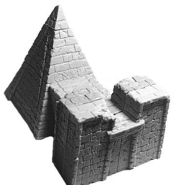 Nubianische Pyramide