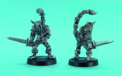 Chaos Knight with scorpion tail mutation