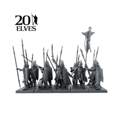 Elf Spearmen Regiment (20)