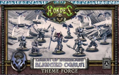 Legion of Everblight Blighted Ogrun Legion Army Box
