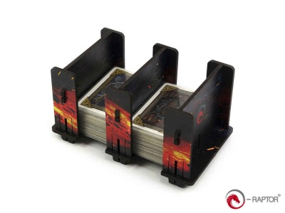 Board Game Card Holder - 2S FullPrint HDF Lava