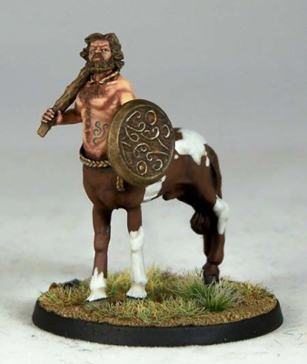 Centaur with Club & Shield