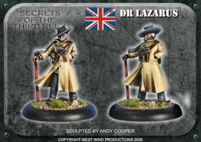 Special Character 'Dr Lazarus'