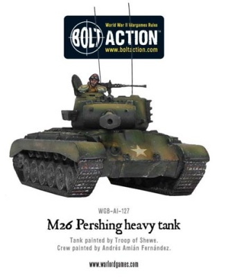 M26 Pershing heavy tank (1)