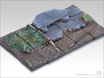Batleground - 25x25mm Diorama 1(15)