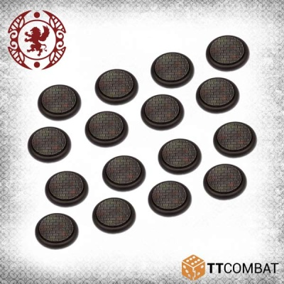 30mm Cobblestone Bases (16)