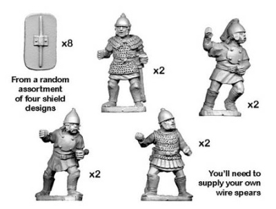 Celtiberian Warriors with Spear (8)