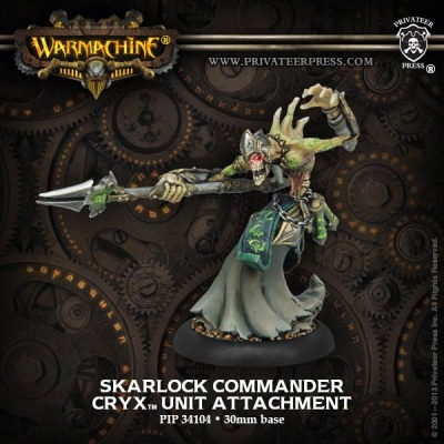 Cryx Unit Attachement Skarlock Commander