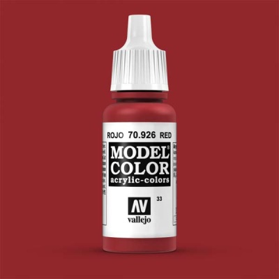Model Color 033 Rot (Red) (926)