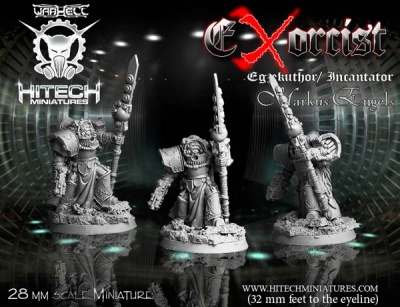 28mm Exorcist Egzekuthor Incantator Markus Engels