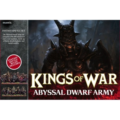 Abyssal Dwarf Army