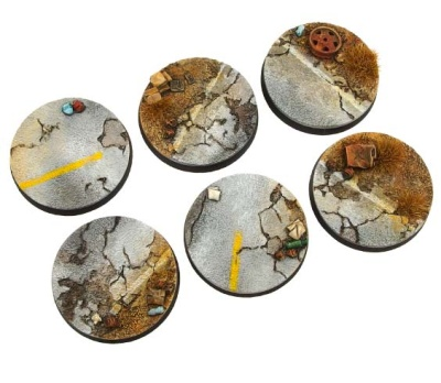 Highway Bases, Round 40mm (2)