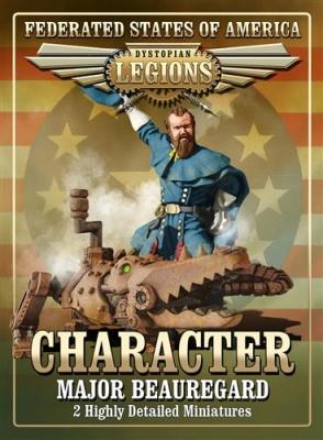 Federated States of America Major Beauregard  (OOP)