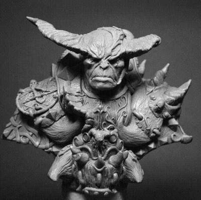 Daemon Warrior Bust