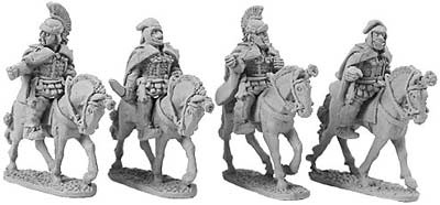 Persian Mounted Generals (random 4 of 4 designs)