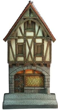 Fassade mittelalterliches Haus