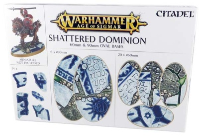 Shattered Dominion: Ovalbases (60 mm & 90 mm)