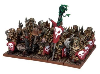 Abyssal Dwarf Immortal Guard Regiment (20)