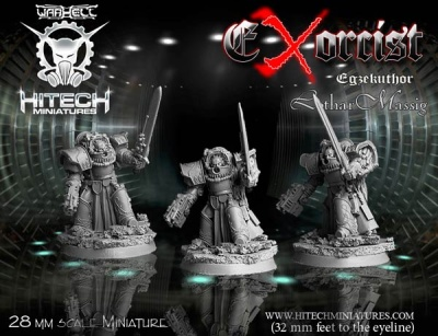 28mm Exorcist Egzekuthor Lothar Massig