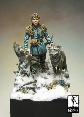 Remussen - L'enfant Viking 54 mm