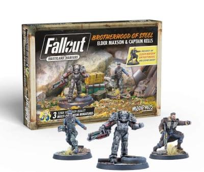 Fallout: Wasteland Warfare - Brotherhood: Elder Maxon & Cpt