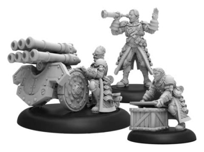 Steelhead Volley Gun Crew- Mercenary Unit