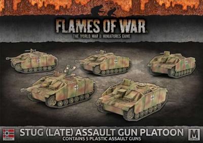 StuG (Late) Assault Gun Platoon (Plastic)
