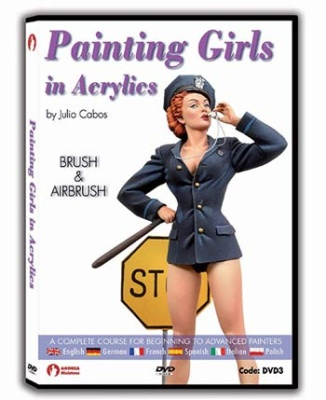 Painting Girls In Acrylics DVD