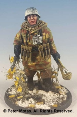 Lieutnant mit Panzerfaust (1)