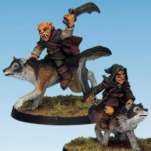 Goblin Wolf Rider Swords