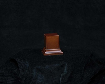 Wooden Base Brown, 50x23x23mm