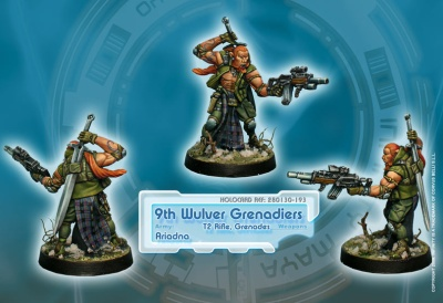 9th Wulver Grenadiers (T2 Rifle) (AR)
