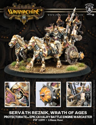 Protectorate Epic Warcaster Battle Engine Servath Reznik