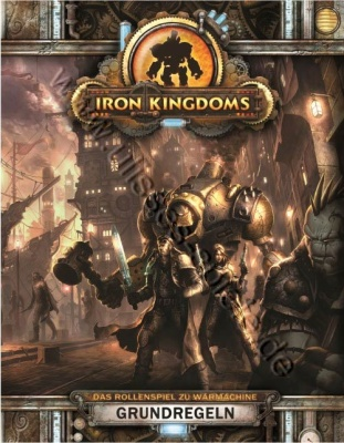 Iron Kingdoms - Grundregeln HC deutsch