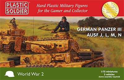 1/72nd Panzer III J,L,M,N (3)