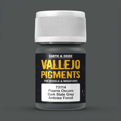 Vallejo Pigment Dark Slate Grey 30ml