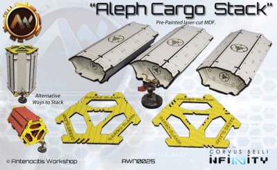 Aleph Stack (3 + Clamps)
