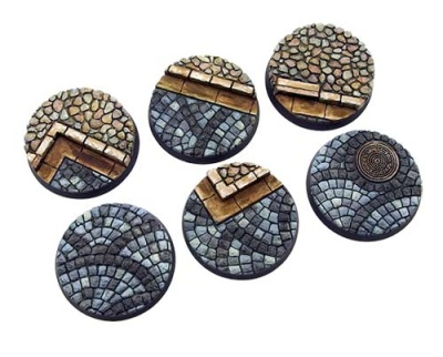 Cobblestone Base, Round 40mm (2)