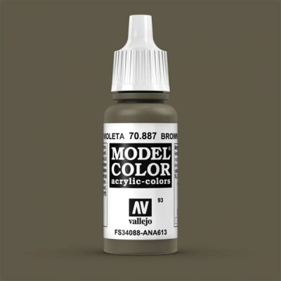 Model Color 093 Braunviolet (Brown Violet) (887)
