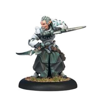 Retribution Warcaster Garryth Blade of Retribution
