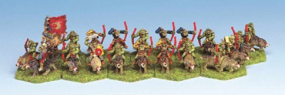Orc Wolf Rider Archers (20)