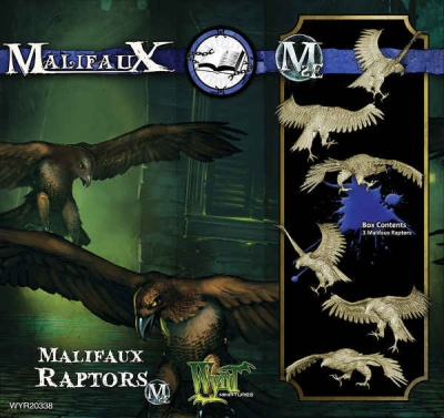 Malifaux Raptor (3)