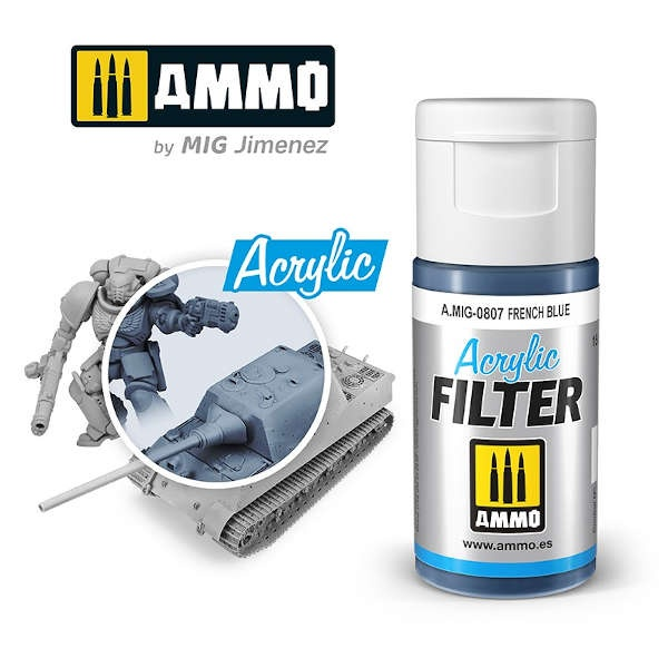 ACRYLIC FILTER French Blue (15ml)
