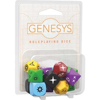 Genesys RPG Roleplaying Dice Pack