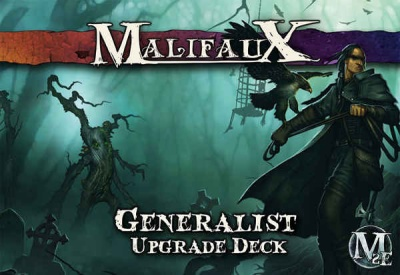 Generalist Upgrade Deck: Malifaux 2nd Edition