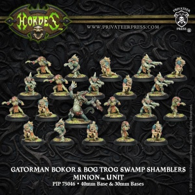 Minion Gatorman Bokur & Swamp Shamblers Unit (21)