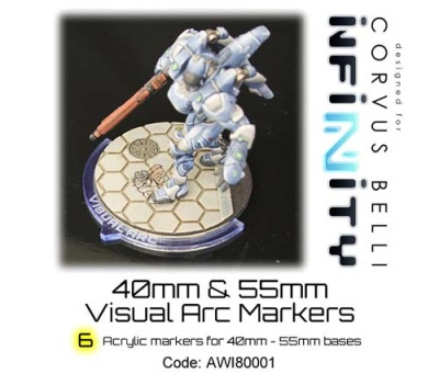 40/55mm Visual Arc Markers (4,2)