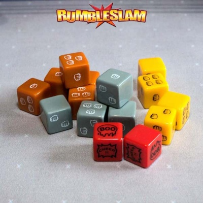 RUMBLESLAM Dice Set