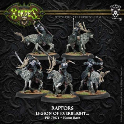 Legion of Everblight Raptors Unit Box (5)
